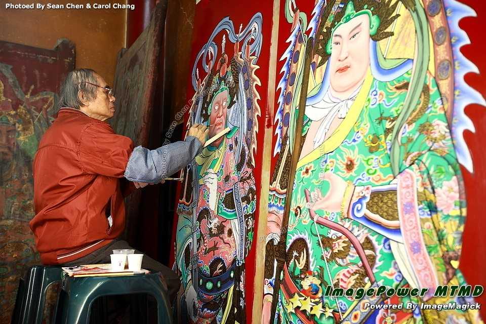 [府城藝文]台南市彩繪藝師陳金鐘(陳壽彝)獲選99年度「台灣工藝之家」台南市彩繪藝師陳金鐘(陳壽彝)獲選99年度「台灣工藝之家」